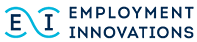 The brand logo of Employment Innovations